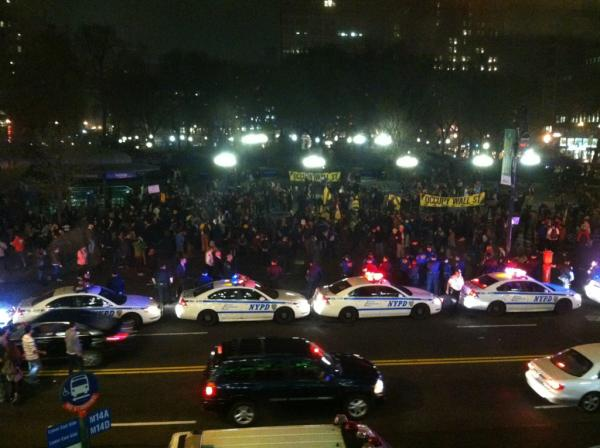 NYPD at Union Square