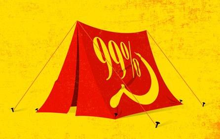 Commie tent