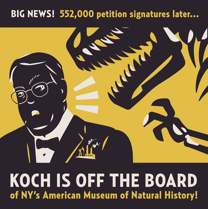 Koch out